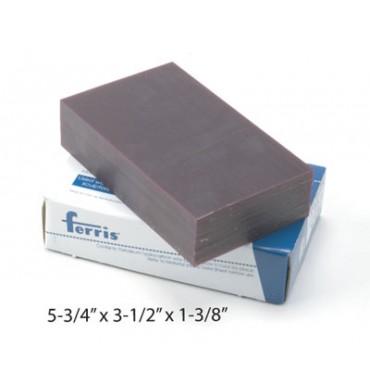 100010R - BLOCO DE CERA 15X9 ROXO FERRIS