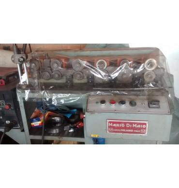Máquina de tubos com costura italiana