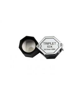850053- LUPA TRIPLET GEMA 10 X 20 5 MM
