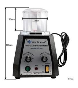 Tamboreador Magnético Centrifuga - Limpa Joias
