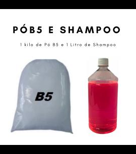 Shampoo 1 Litro E Pó B5 - Para Tamboreador