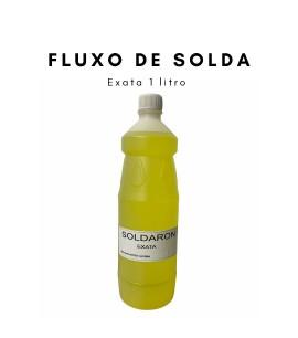 975018 - Soldaron 1 Litro Fluxo De Solda Para Ouro E Prata Ourives