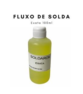 975122 - Soldaron 100 Ml Fluxo De Solda Para Ouro E Prata Ourives